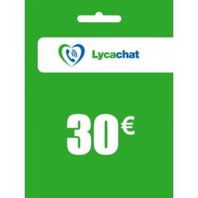 Lycachat 30€